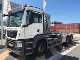 container truck MAN 28.420 6x2-2 BL haakarm EURO6 2018