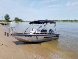 powerboat Yamaha Aluminium multi purpose werkboot/speedboot master 540 - 115 pk Yamaha - benzine Aluminium multi purpose werkboot