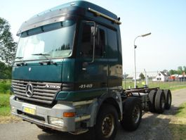 chassis cab truck Mercedes-Benz 4148/8X4/EPS/STEEL-STEEL/V8 ACTROS 4148 2000