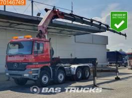 other-tractorheads Mercedes-Benz Actros 8X4 20,5 meters! Crane Kran Grua Palfinger PK66000 G Remote 2000