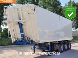 tipper semi trailer Kempf SKM 39/3 AK 53m3 Alukipper Liftachse electric/hydraulic tipper 2016