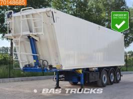 tipper semi trailer Kempf SKM 39/3AK 53m3 Alukipper Liftachse electric/hydraulic tipper 2016