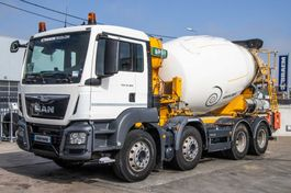 concrete mixer truck MAN 32.360 BB+E6+MIXER 9M³ 2016