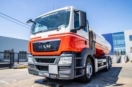 tank truck MAN TGS 26 -6X2-4+MAGYAR 18.700L/5COMP 2013