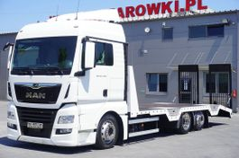 car transporter truck MAN TGX 26 XLX , E6 , 6X2 , NEW BODY 7,9m , ramps ,winch , remot 2017