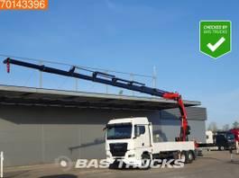 platform truck MAN TGX 26 6X2 Crane Kran 20 Meters Long! Fassi F545RA.2.28 XE-Dynamic Retarder Ste... 2020