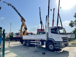 crane truck Mercedes-Benz Axor 6x2 + CRANE (31Tm) EFFER 305 (6x) + JIB (4x + 1x) + Winch - REACH 27.17m !!! BE TRUCK 2011