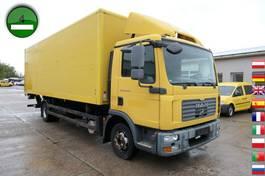 closed box truck MAN TGL 12 4x2 BL LBW AHK 2008