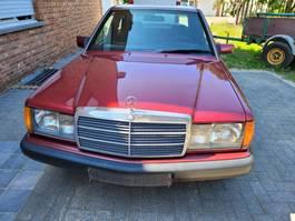 sedan car Mercedes-Benz 190E 1987