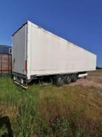 closed box semi trailer Krone SDK27B3 - BITBURG 2005