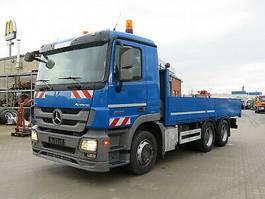 platform truck Mercedes-Benz Actros L; V8 engine, Blatt/Luftfed. 2010