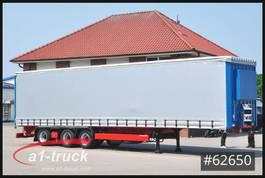 sliding curtain semi trailer Krone SD 27, Lenkachse, Staplerh., Hubdach eca.. 2014