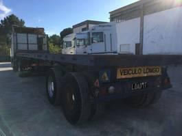 flatbed semi trailer Fruehauf 50 Ton 1989