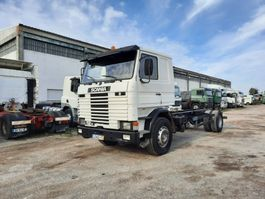 chassis cab truck Scania 112 Full Springs Suspension