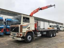platform truck Volvo F12-25 With Fassi Crane 1980