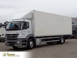 closed box truck Mercedes-Benz Euro 5 + Manual + MBB Lift 2012