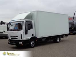 closed box truck Iveco 75E18 + Euro 5 + Manual + Lift + BLAD-BLAD+low kilometer 2011