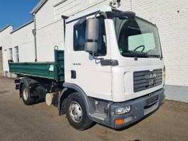tipper truck > 7.5 t MAN TGL 8 BB TGL 8.150, Meiller Kipper, Kugelkopf 2008