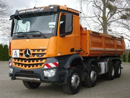 tipper truck > 7.5 t Mercedes-Benz 3245 8x4 Euro 6 Dreiseitenkipper Bordmatik 2015