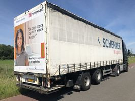 sliding curtain semi trailer Pacton 2 as met stuuras + liftas + laadklep 11 meter 2007