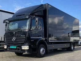 closed box truck Mercedes-Benz 1224L EURO6. Aut. 720x249x250 Bakwagen met Laadklep. 2014