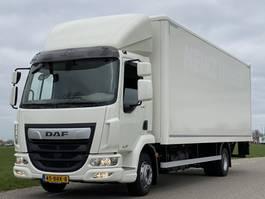 closed box truck DAF LF 230.12. EURO6.  05-2018 710x249x240 Aut. Airco. Bakwagen met Laadklep. 2018