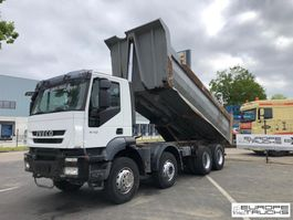 tipper truck > 7.5 t Iveco AD340T41 Full steel - Manual - Euro 4 - Airco 2008