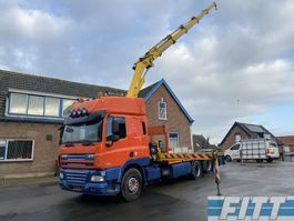 crane truck DAF CF 85 FAS CF85/410 - open laadbak - HIAB 288 2011