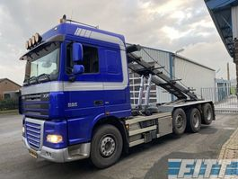 container truck DAF XF 105 FAK XF105/460 8x2 NCH 30 tons systeem 2008