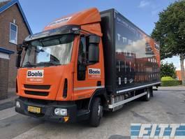 other trucks Iveco Eurocargo ML80EL 16/P - 7490KG - gesloten bak met klep NL 2015
