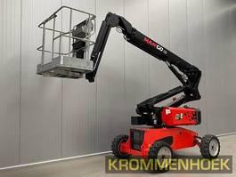 articulated boom lift wheeled Manitou Mango 12 2016