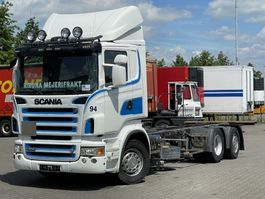 chassis cab truck Scania R 6x2*4 RETARDER 2006