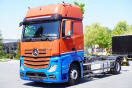 container truck Mercedes-Benz , E6, 4x2, chassis 7m, BDF, GigaSpace 2018