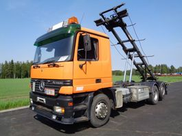 mounted boom lift truck Mercedes-Benz Actros 2543 6x2 4500 2002