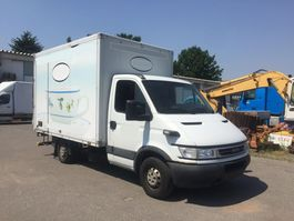 closed box truck Iveco Daily 35S11 Koffer LBW Klimaanlage 2005