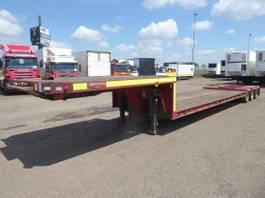 lowloader semi trailer Broshuis Lowbed, 3 axle, Upperdeck + lowerdeck 325 cm + 1050 = 1375 cm 1990