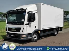 closed box truck MAN 8.180 8.6 ton gvw/ isokoff 2016