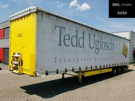 sliding curtain semi trailer Krone SZ / EDSCHA / MEGA