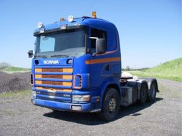 cab over engine Scania R124 R 124 LA 400 HK. WITH TIP.HYD. 1999