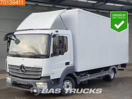 closed box truck Mercedes-Benz Atego 4X2 L Manual Ladebordwand ClassicSpace Euro 6 2014