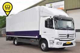 closed box truck Mercedes-Benz . 2019.37385.KM NL-TRUCK 2019