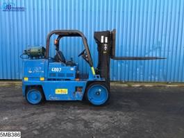 forklift Caterpillar T125D Max 5700 kg, H 3,50 mtr, LPG / GPL Gas 1990
