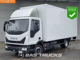 closed box truck Iveco Eurocargo 80E190 4X2 Manual Ladebordwand Euro 6 2017