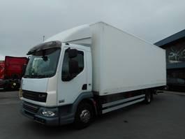 closed box truck DAF DA LF 45 220 2011
