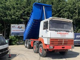 tipper truck > 7.5 t Renault R420 8X4 Tipper Spring/Spring ZF Manual Gearbox 1990