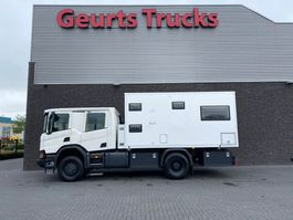 expedition truck Scania P410 XT 4X4 EXPEDITION TRUCK/WOHNMOBIL/CAMPER/MOTORHOME/MOBILHOME/OVERLAND TRUCK 2018
