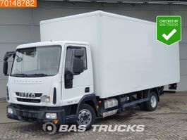 closed box truck Iveco Eurocargo 75E190 4X2 67.025 kms! Manual Ladebordwand Euro 6 2014