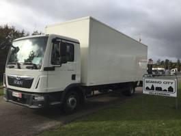 closed box truck MAN TGL 12-220 4x2 BL 2017