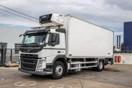 refrigerated truck Volvo FM -4x2+AUBINEAU 16P+CARRIER SUPRA 950+DHOLLANDIA (vlees/meat/viande) 2014