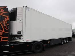 refrigerated semi trailer Schmitz Cargobull SKO 24 Doppelstock Carrier Vector 1950 2017